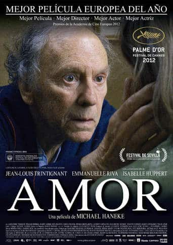 "Poster for the movie ""Amor"""