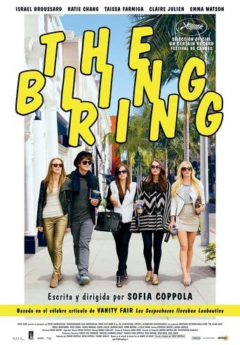 "Poster for the movie ""The Bling Ring"""