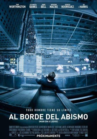 """Poster for the movie """"Al borde del abismo"""""""