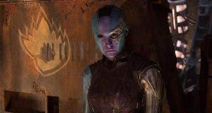 Nébula se enfrentará a Thanos en Vengadores: Infinity War (2018)