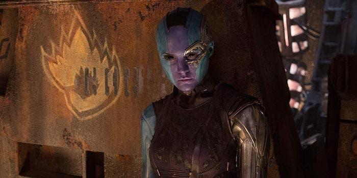 Nebula se enfrentará a Thanos en Vengadores: Infinity War (2018)