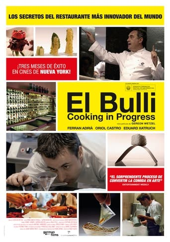"Poster for the movie ""El Bulli: Cooking in Progress"""