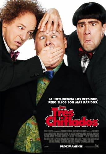 "Poster for the movie ""Los tres chiflados"""
