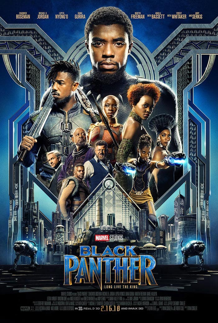 Póster de Black Panther (2018)