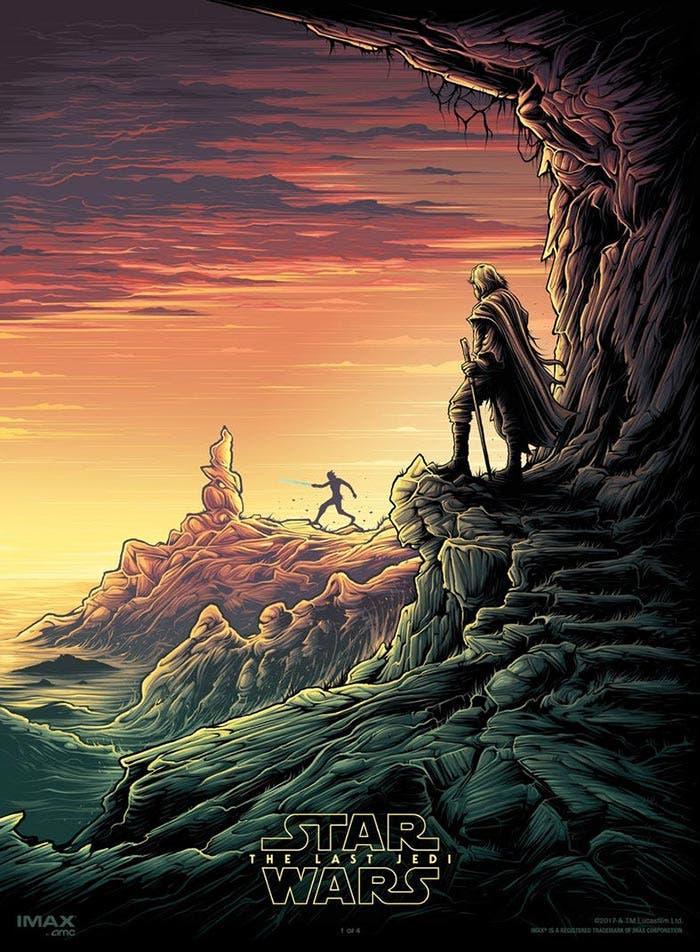 Póster IMAX de Star Wars: Los Últimos Jedi (2017)