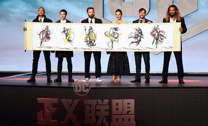 Premiere de la Liga de la Justicia (2017) en China