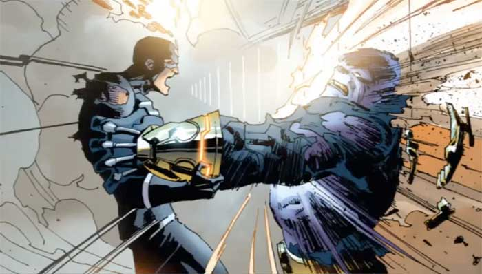 Rayo Negro vs Thanos Los Inhumanos