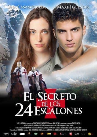 """Poster for the movie """"El secreto de los 24 escalones"""""""