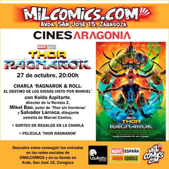 SORTEO: Entrada doble para el estreno de Thor: Ragnarok (2017)