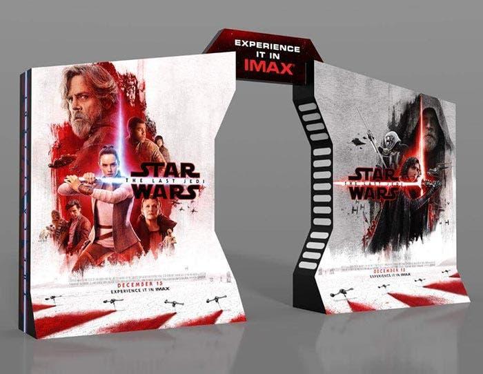 SPOILER de Star Wars: Los Últimos Jedi (2017) con la imagen de IMAX