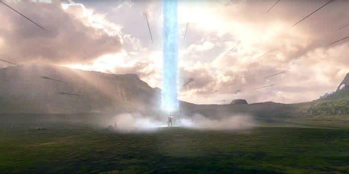 Steppenwolf en Themyscira (Liga de la Justicia)