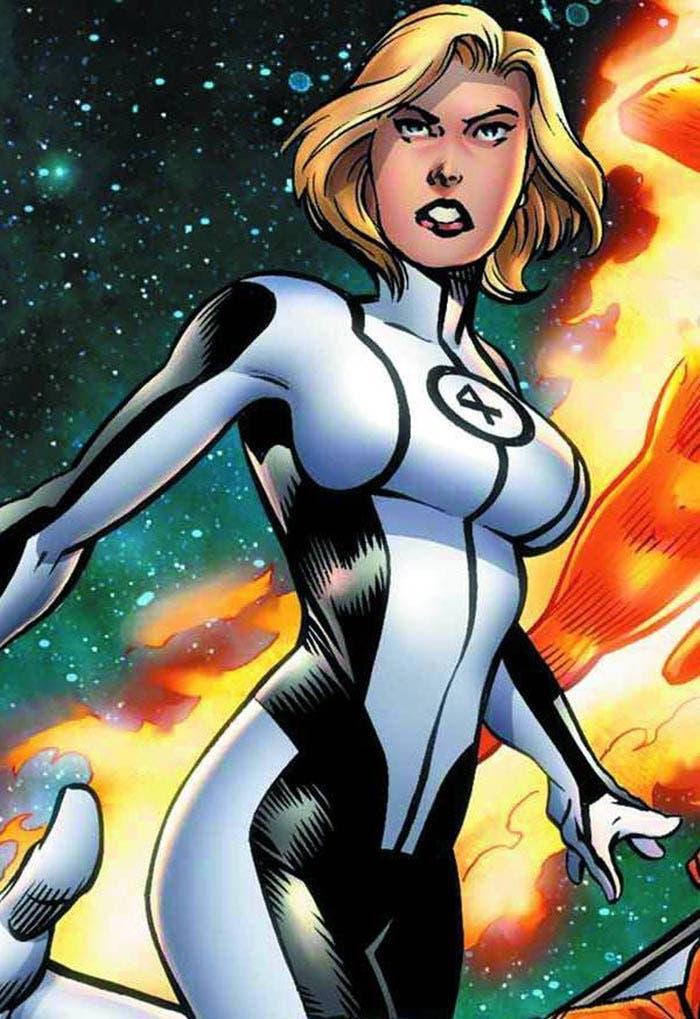 Sue Storm, de los 4 Fantásticos (Marvel)