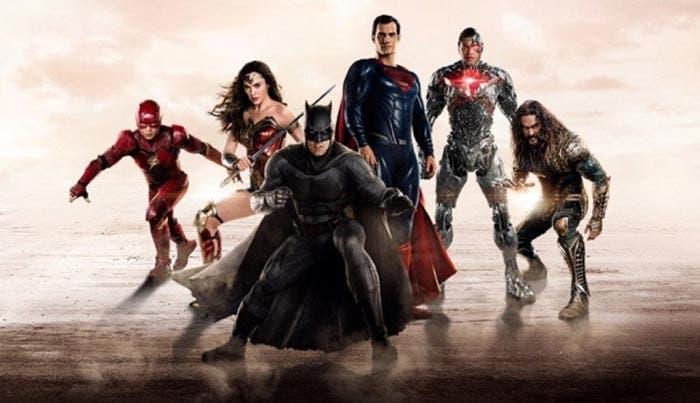 Superman en la promo de la Liga de la Justicia (2017)