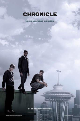 "Poster for the movie ""Chronicle"""