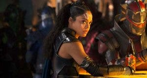 Tessa Thompson es Valquiria en Thor Ragnarok