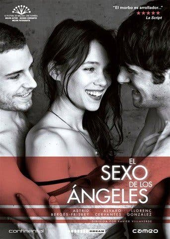 "Poster for the movie ""El Sexo de los Ángeles"""