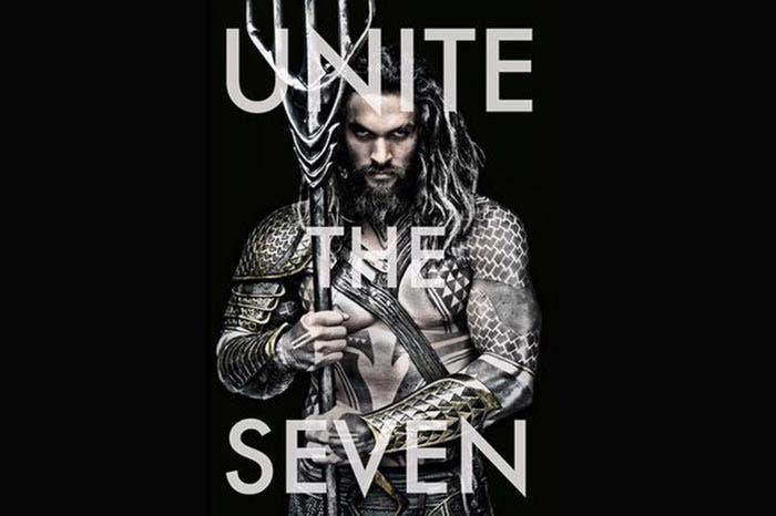 Póster Liga de la Justicia (2017): Unite The Seven
