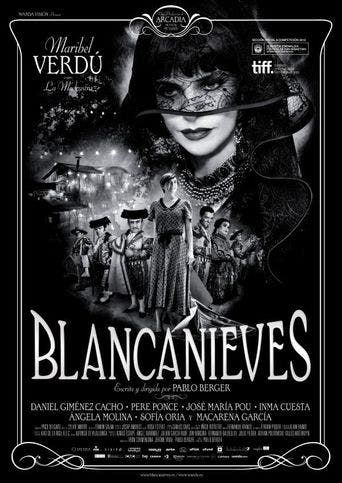 """Poster for the movie """"Blancanieves"""""""