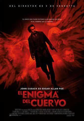 """Poster for the movie """"El enigma del cuervo"""""""