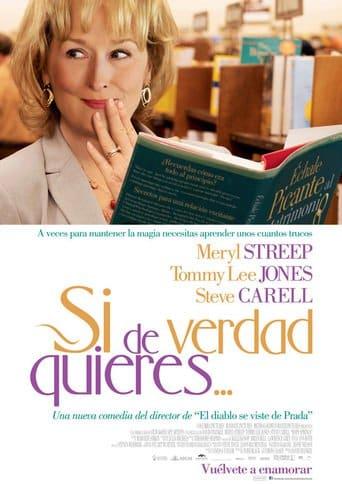 """Poster for the movie """"Si de verdad quieres..."""""""