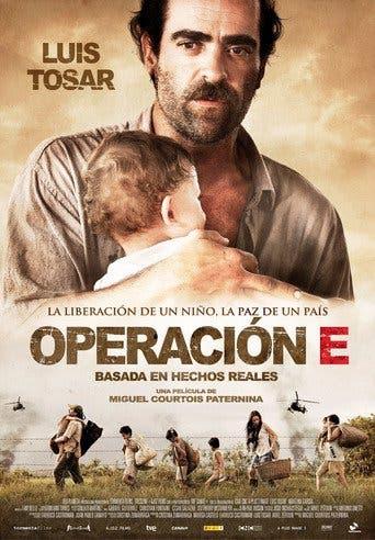 """Poster for the movie """"Operación E"""""""