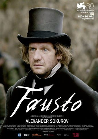 "Poster for the movie ""Fausto"""