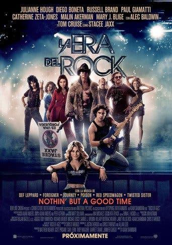 """Poster for the movie """"La era del Rock"""""""