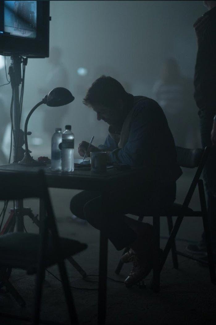 Zack Snyder en el rodaje de la Liga de la Justicia (2017)