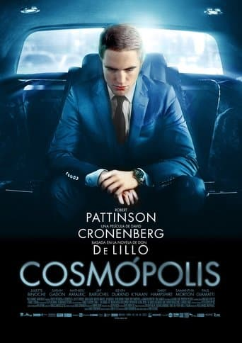 "Poster for the movie ""Cosmópolis"""