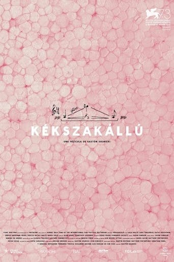 "Poster for the movie ""Kékszakállú"""