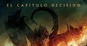"""Poster for the movie """"El Hobbit: La batalla de los cinco ejércitos"""""""