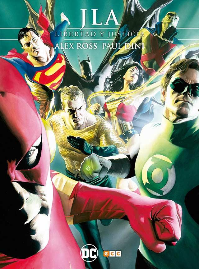 JLA Libertad y Justicia (Alex Ross y Paul Dini)