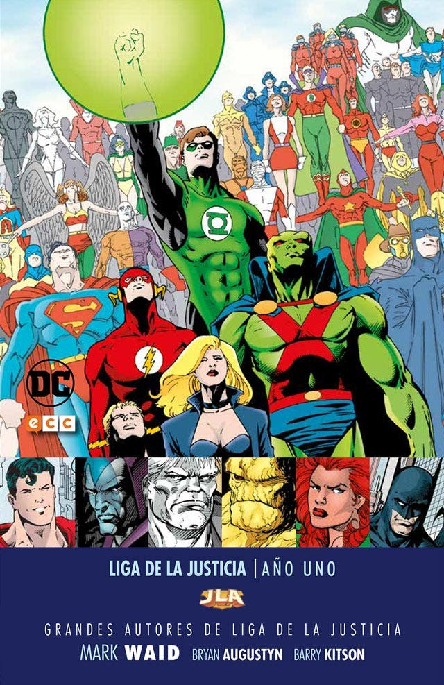 Liga de la justicia AÑO UNO