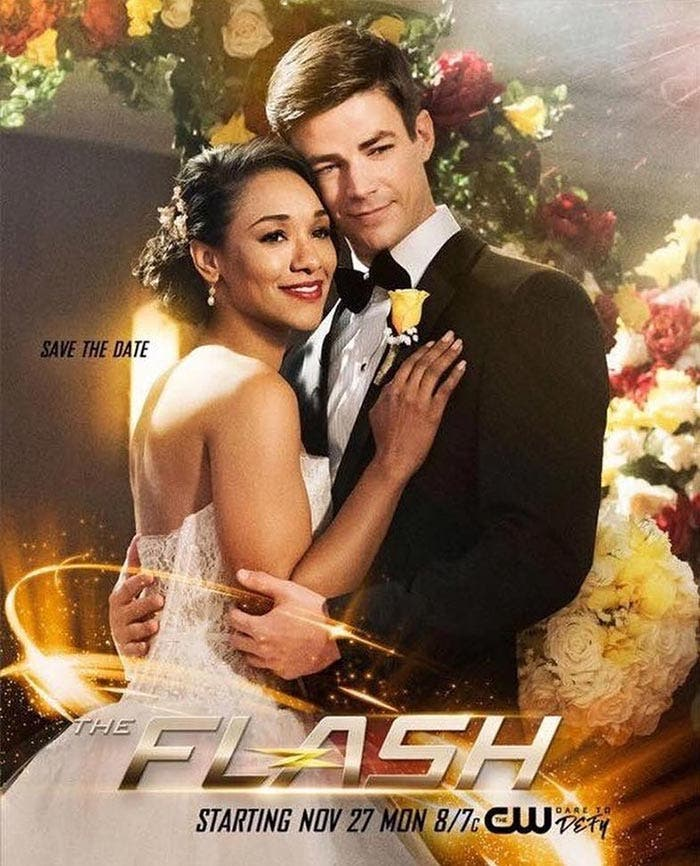 La boda de The Flash