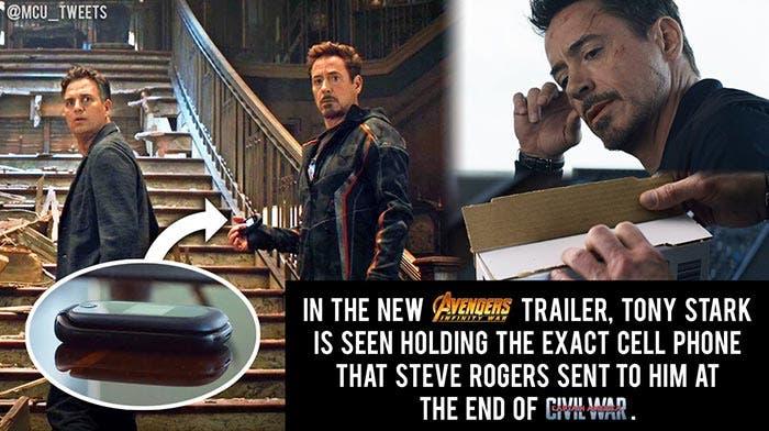 El easter egg de Civil War en el tráiler de Vengadores: Infinity War