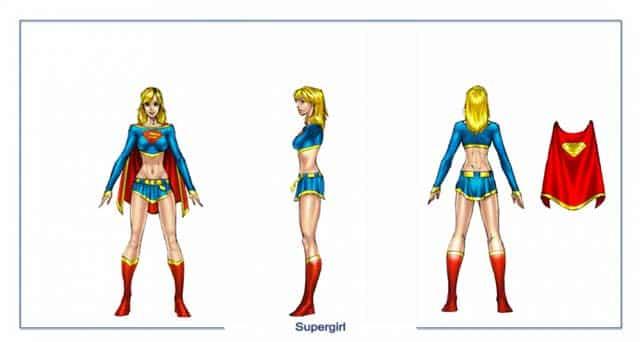 DC Universe Online Super Girl