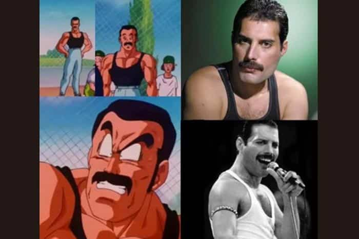 Freddie Mercury en Dragon Ball Super