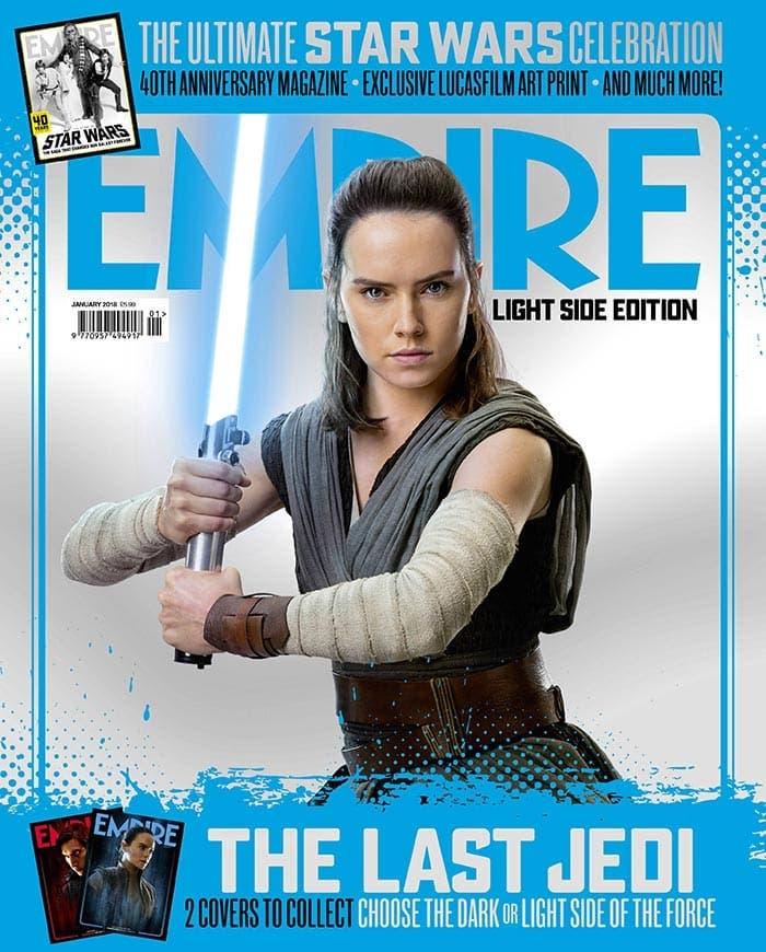 Rey en Star Wars: Los Últimos Jedi (2017)