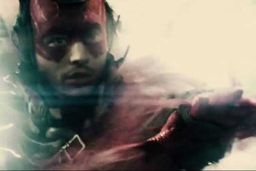 Flash en Batman v Superman Liga de la Justicia