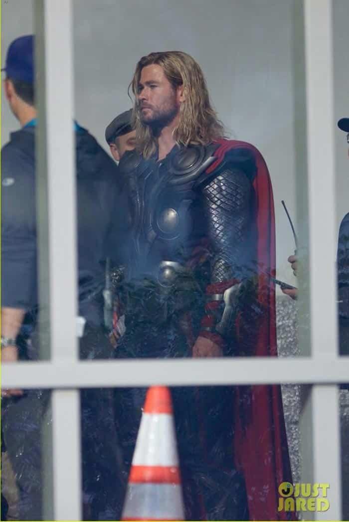 Flashback de Thor en Vengadores 4 (2019)