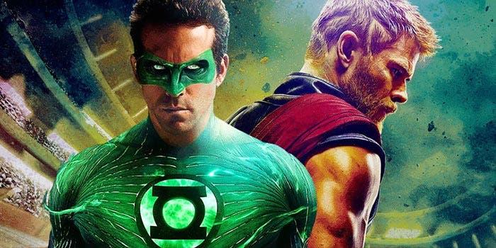 Easter egg de Green Lantern en Thor: Ragnarok (2017)