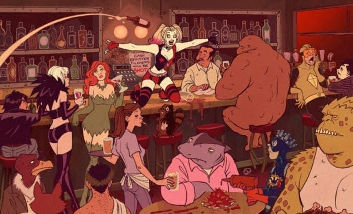 Serie de animación de Harley Quinn con Margot Robbie