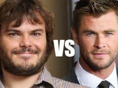 Jack Black vs Chris Hemsworth