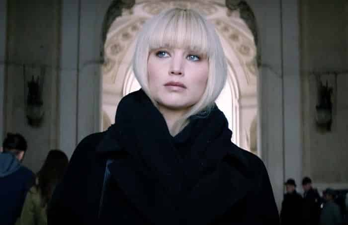 Jennifer Lawrence en Red Sparrow (2018)