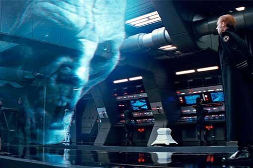 Líder Supremo Snoke - Star Wars: los últimos Jedi