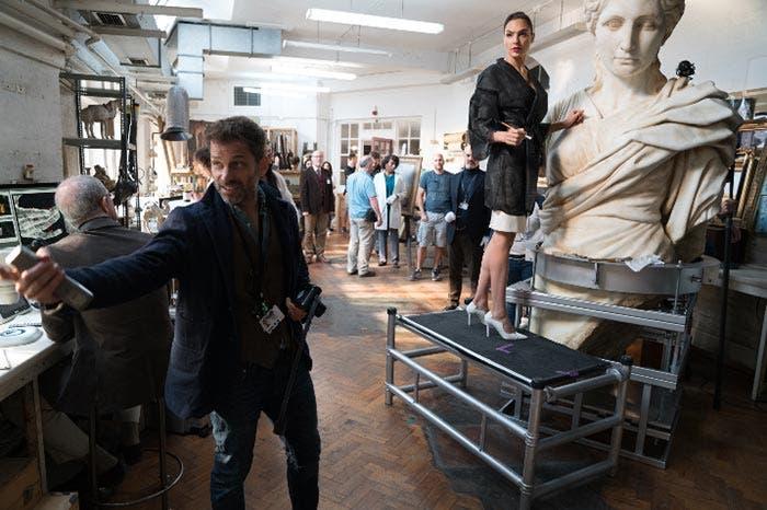Liga de la Justicia (2017) detrás de las cámaras