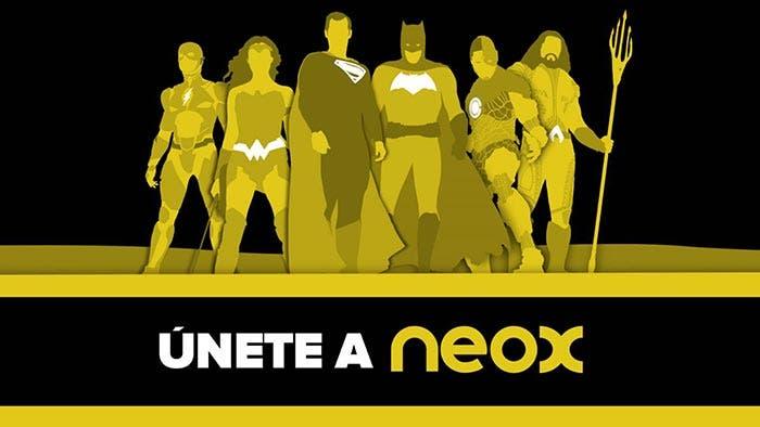 Liga de la Justicia en Neox