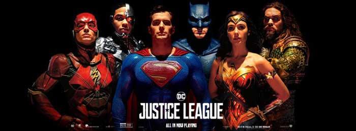 Liga de la Justicia | Las 10 mejores películas de 2017
