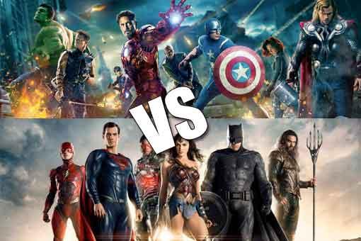 Liga de la Justicia vs Los Vengadores