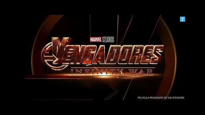 El logo de Vengadores: Infinity War (2018)